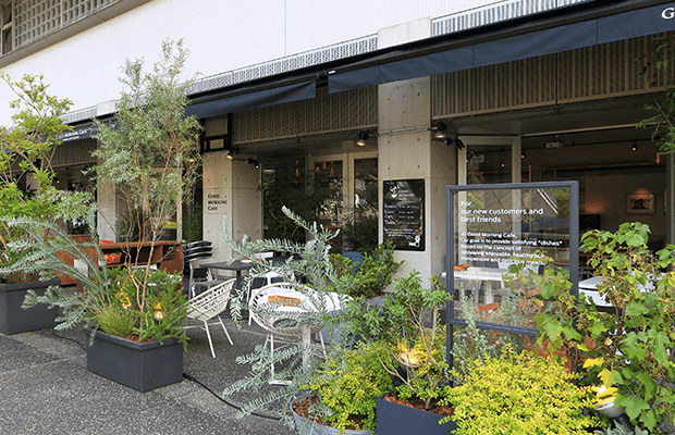 東京 千駄ヶ谷 グッドモーニングカフェ 千駄ヶ谷